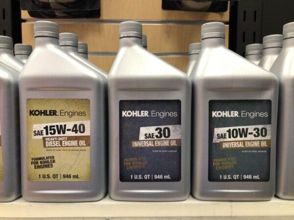 Kohler Oil